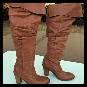 Knee length Pirate Boots